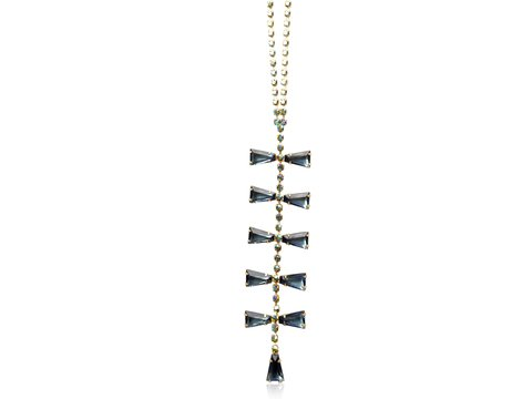 BETTIE STATEMENT PENDANT - MIDNIGHT NAVY