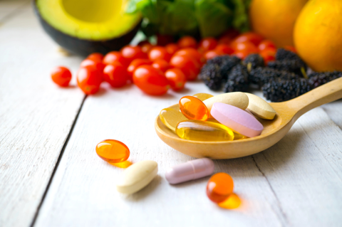 Diet, Supplements and Your Skin