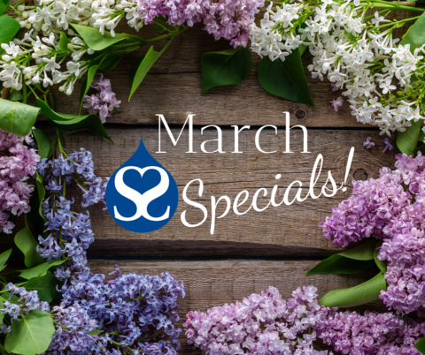March 2020 Specials!