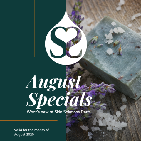 August 2020 Specials!