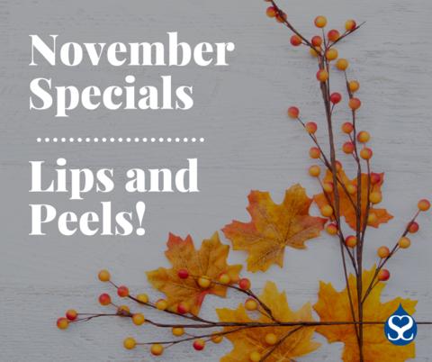 November 2020 Specials!