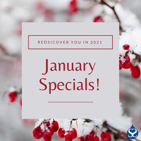 January 2021 Specials!