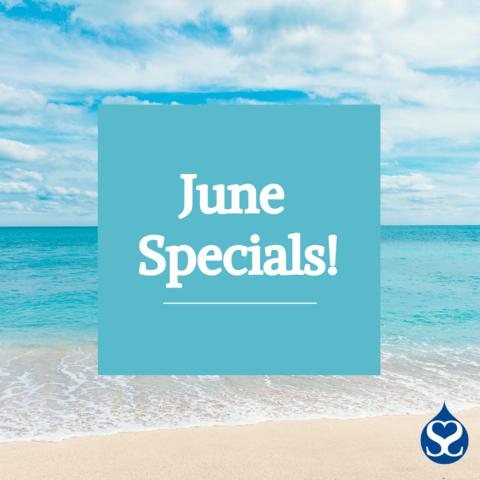 June 2021 Specials!