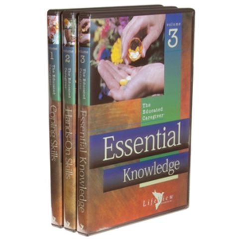 The Educated Caregiver: Three Volume Set