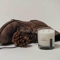 Leather + Pine