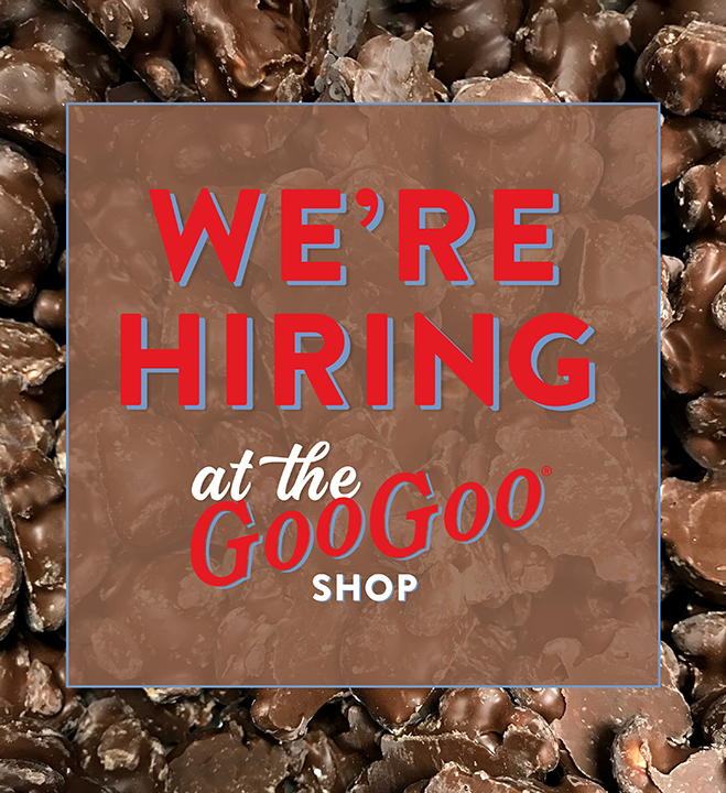 Land the best job ever — work at the Goo Goo Shop! Image