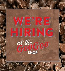 Land the best job ever — work at the Goo Goo Shop!