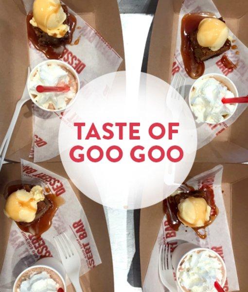 Taste of Goo Goo - 5/16 at 2 P.M.