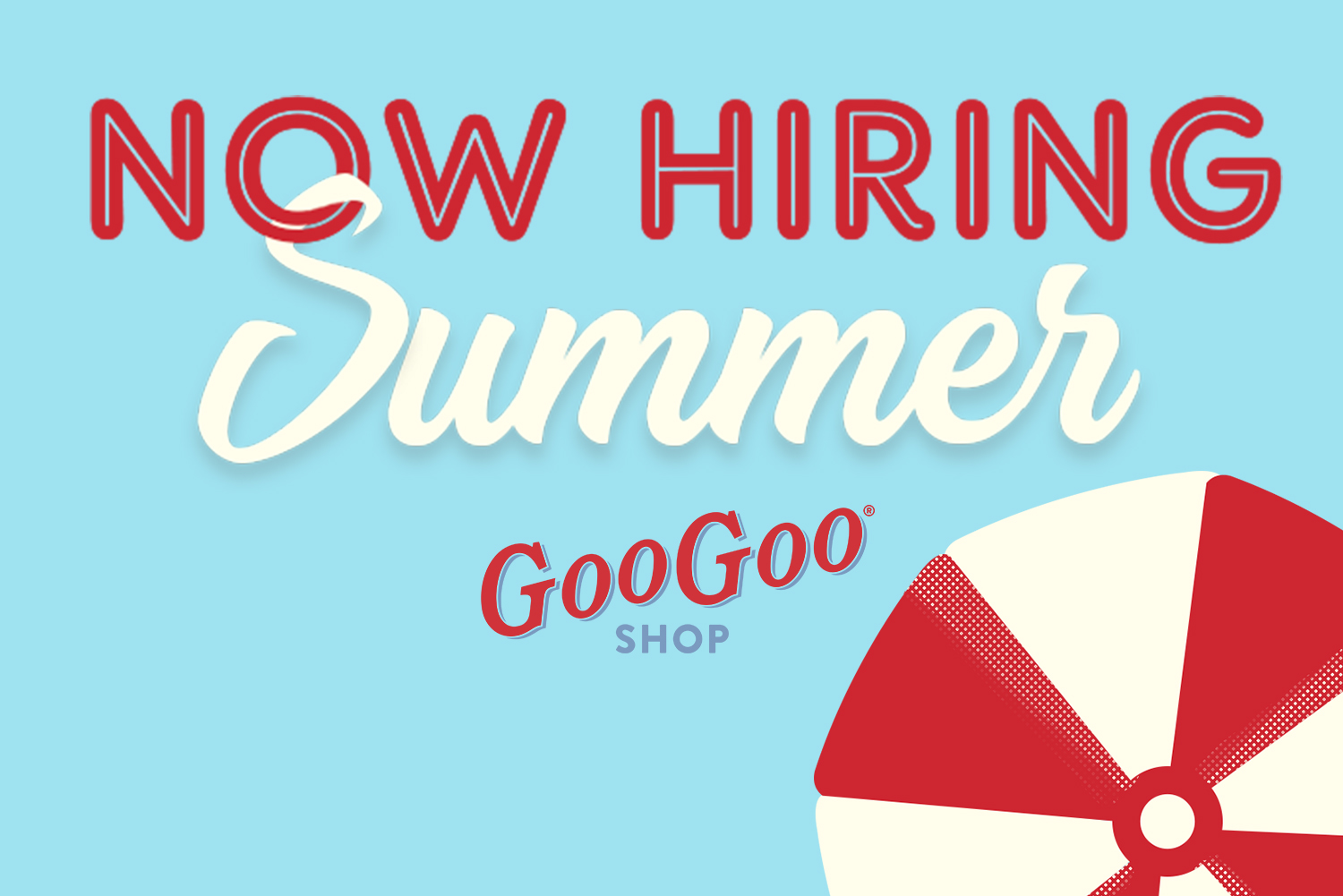 Now Hiring - Summer 2019  Image