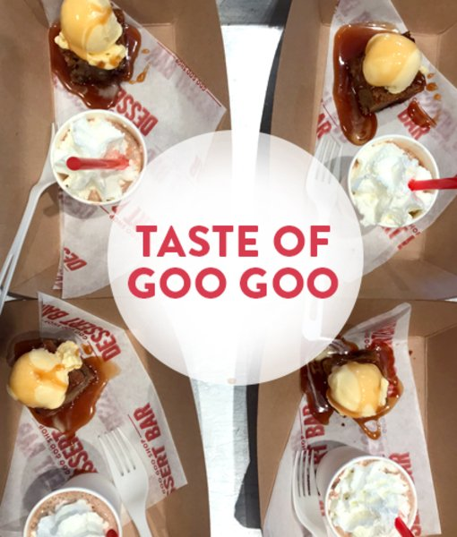 Taste of Goo Goo - 12/15 at 2 P.M.