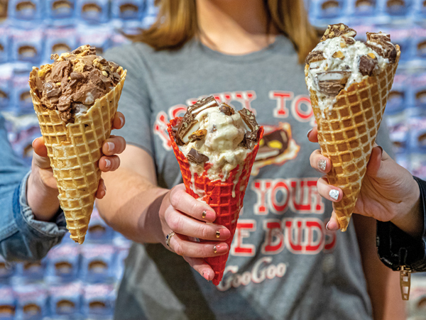 Goo Goo Cluster and Hattie Jane's Creamery Partner to Release New Line of Ice Cream Flavors Image