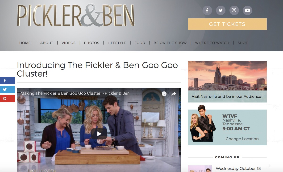 Goo Goo on Pickler and Ben Image