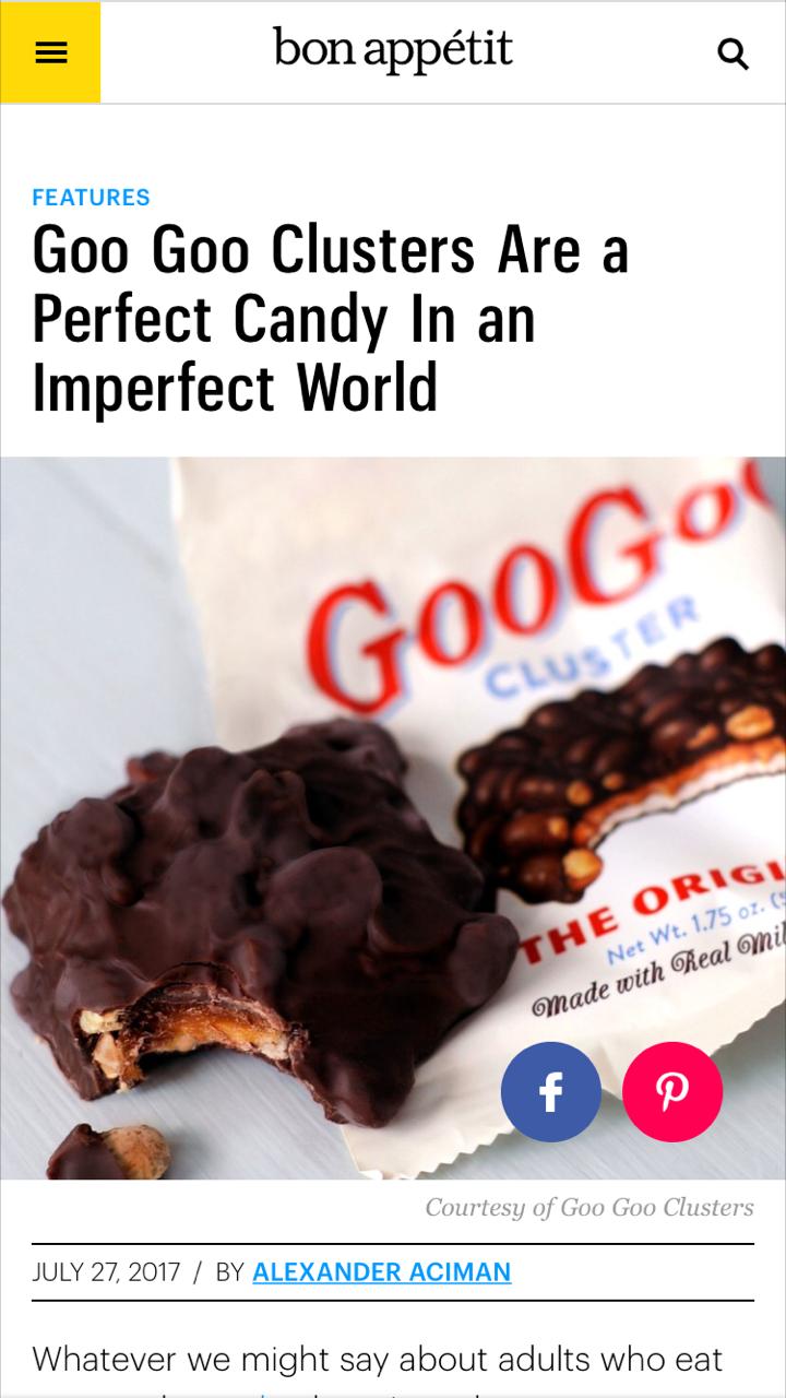 Bon Appetit Goo Goo Feature Image