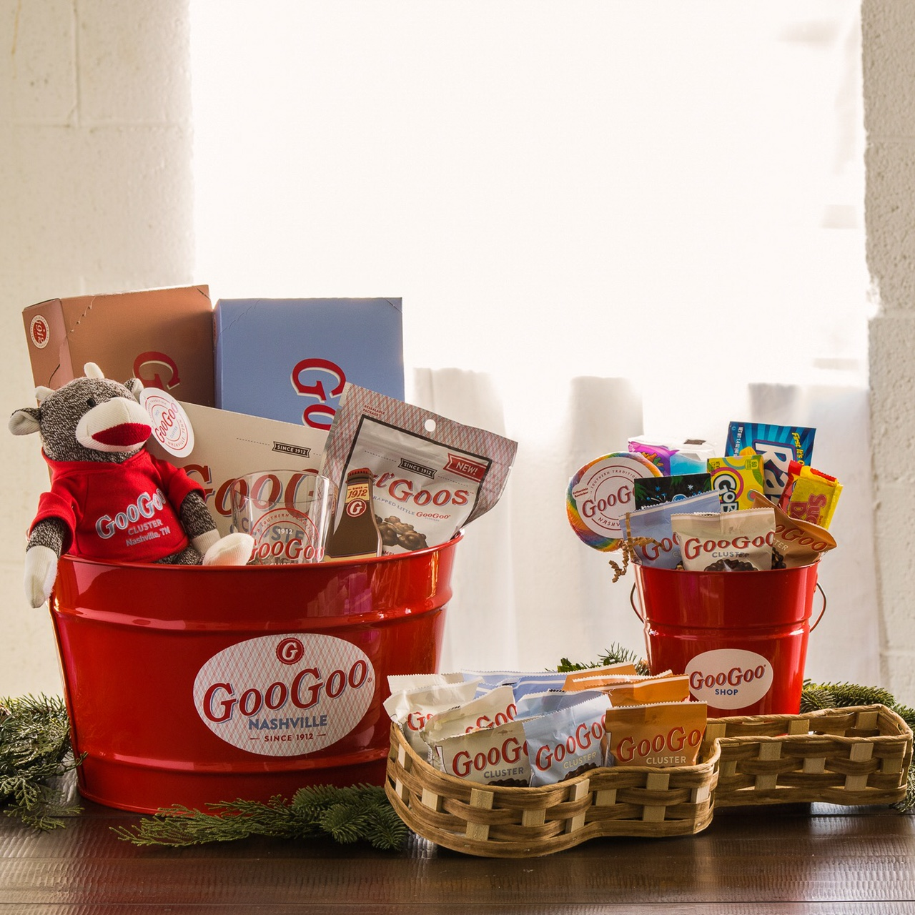 New for 2016: Gift Baskets Available Online and at the Goo Goo Shop Image