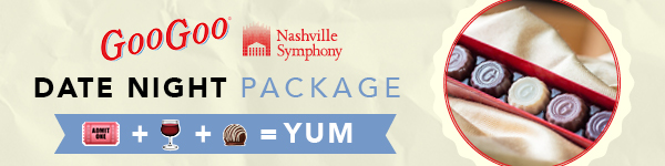 Nashville Symphony Goo Goo Date Night Packages Image