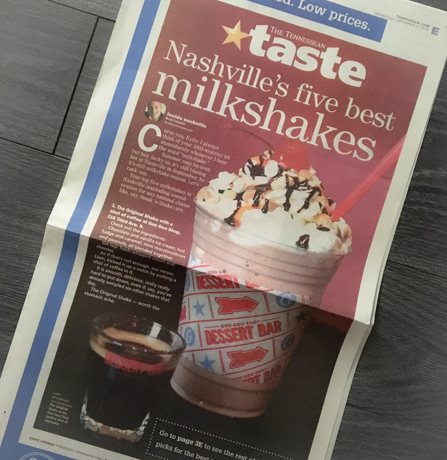 The Tennessean: Best Milkshakes in Nashville Image