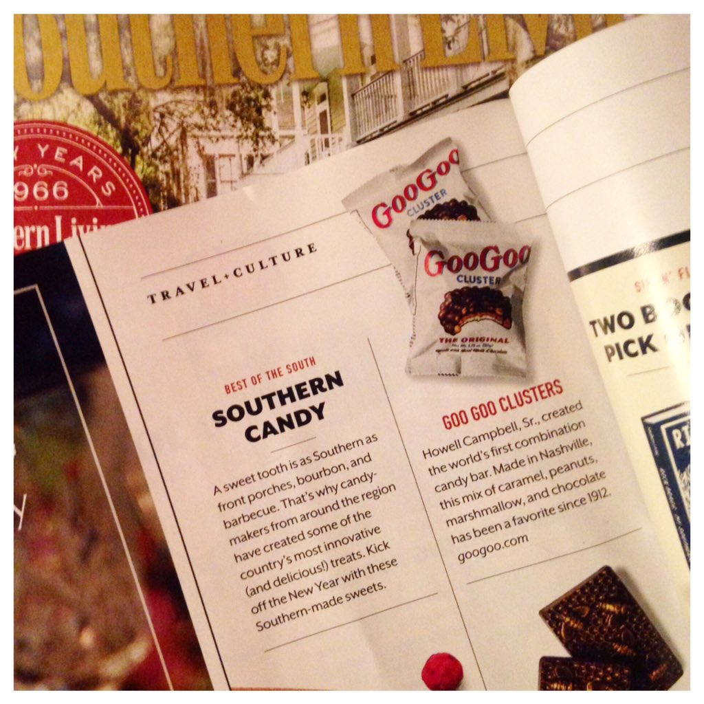 Goo Goo in Southern Living's Best of the South: Southern Candy Image