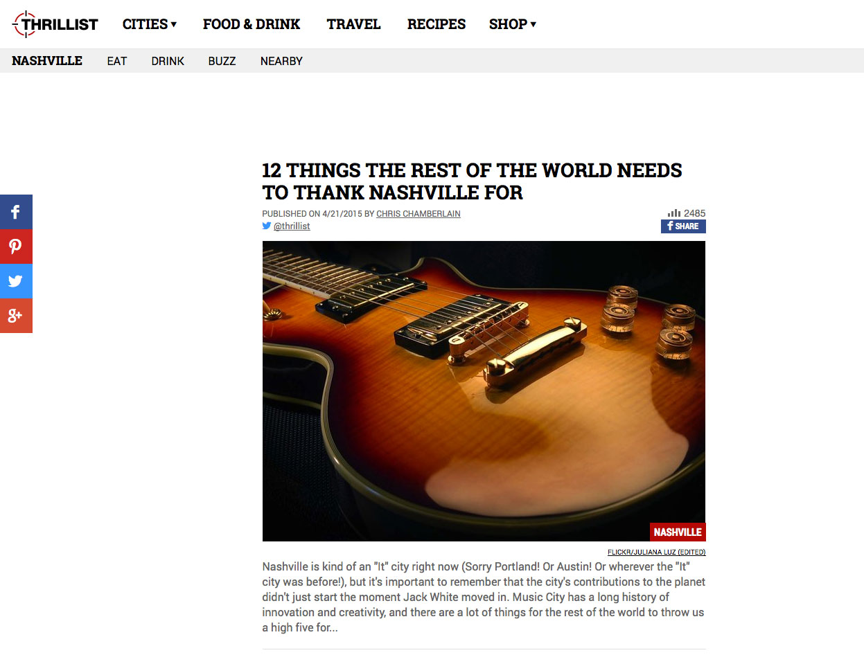 Thrillist's 12 Things Image
