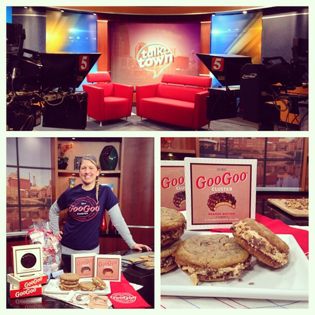 Peanut Butter Goo Goo Cookie Sandwiches on Talk of the Town Image