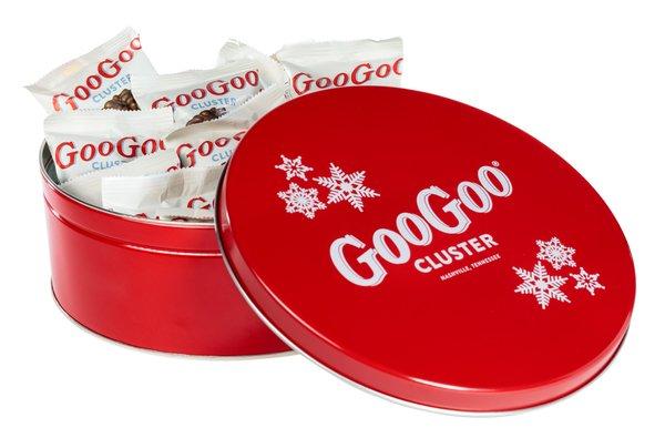 Goo Goo Holiday Tin - Red