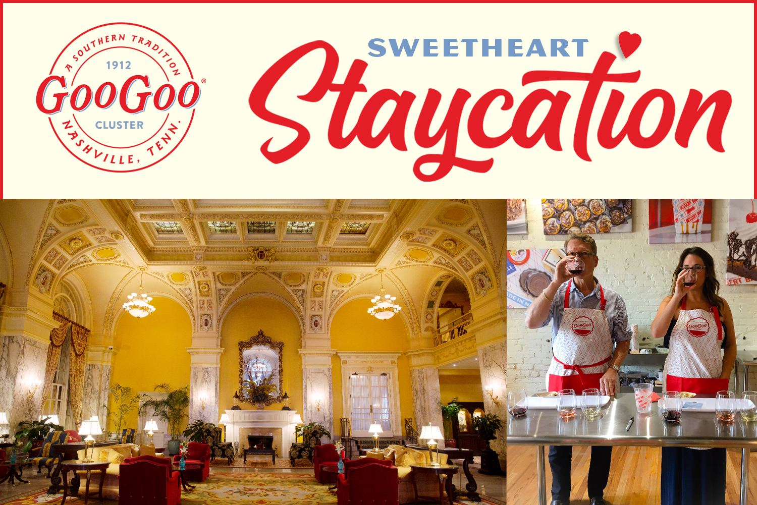 ❤️ Sweetheart Staycation Giveaway ❤️ Image