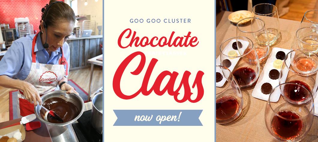 Goo Goo Chocolate Classes Now Open