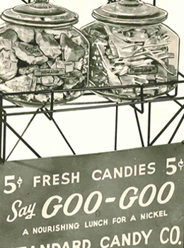 Goo Goo Candy Cart