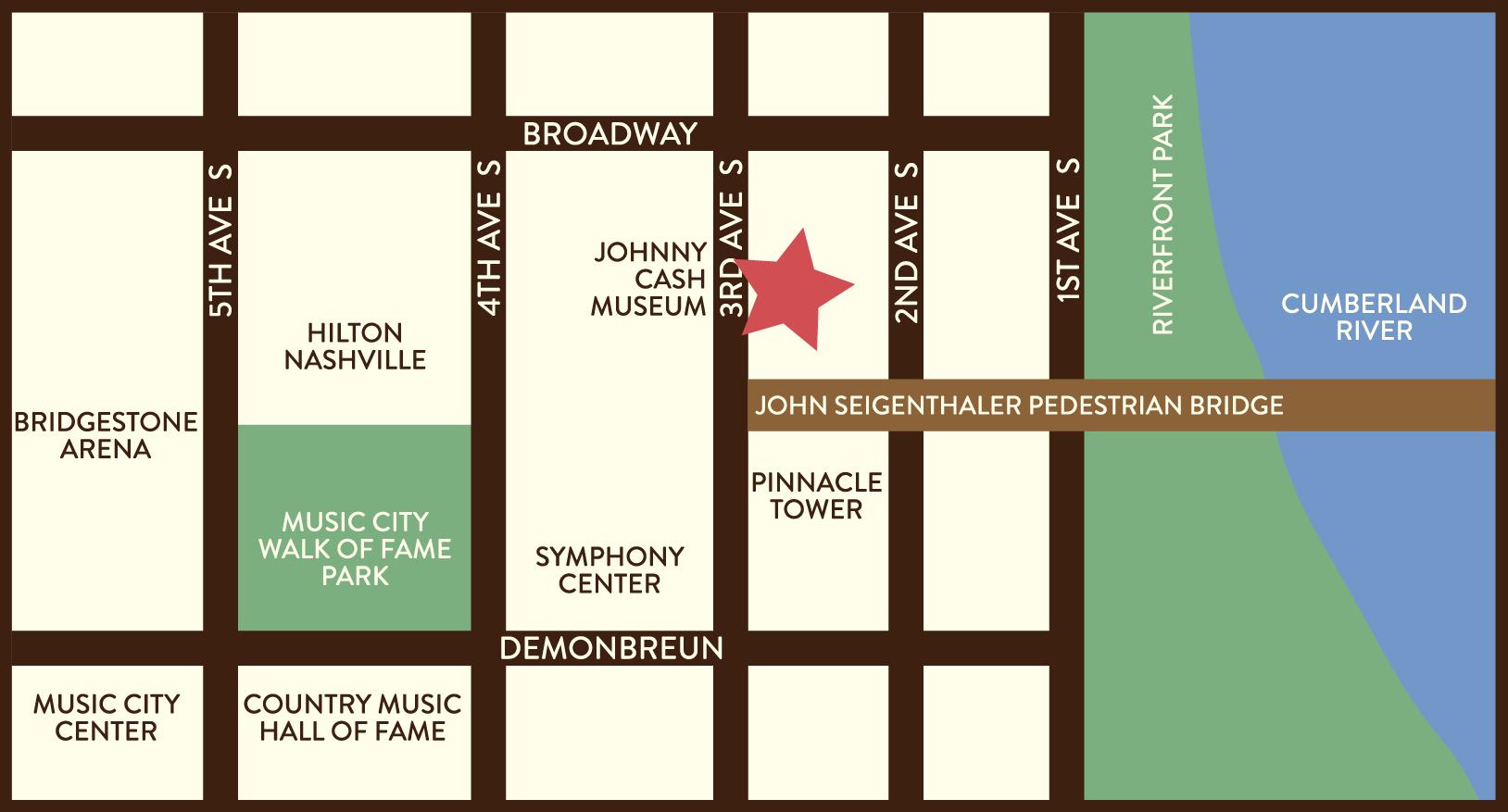 Downtown Nashville - Goo Goo Cluster on