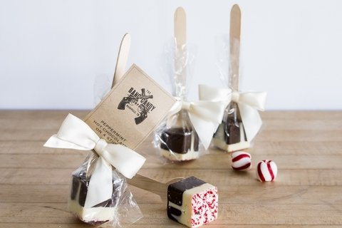 Peppermint Hot Chocolate on a Stick 4 Pack