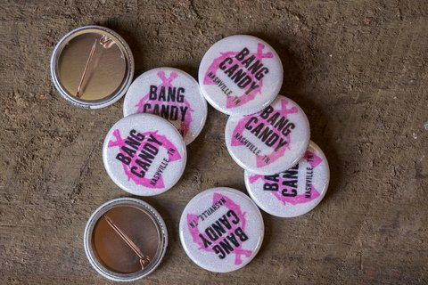 Bang Candy Company Buttons