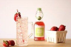 Strawberry Rhubarb Cooler