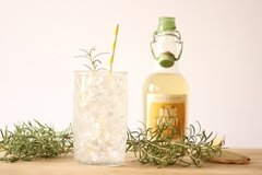 Ginger Rosemary Soda