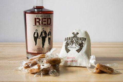 Boozy Caramels- Corsair Red Absinthe
