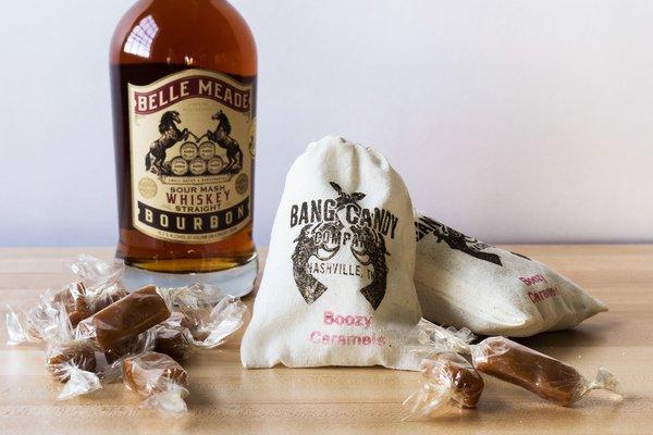 Boozy Caramels- Belle Meade Bourbon