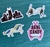 Bang Candy Stickers - Set of 4