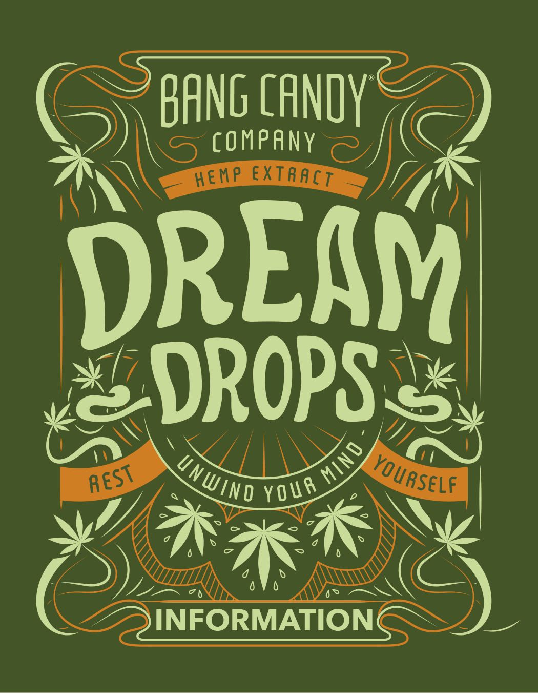 CBD Dream Drops Artwork