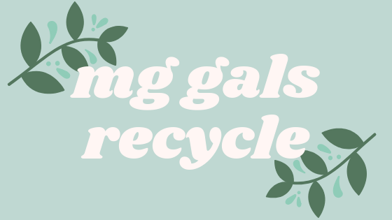 MG Gals on Sustainability & Recycling Image
