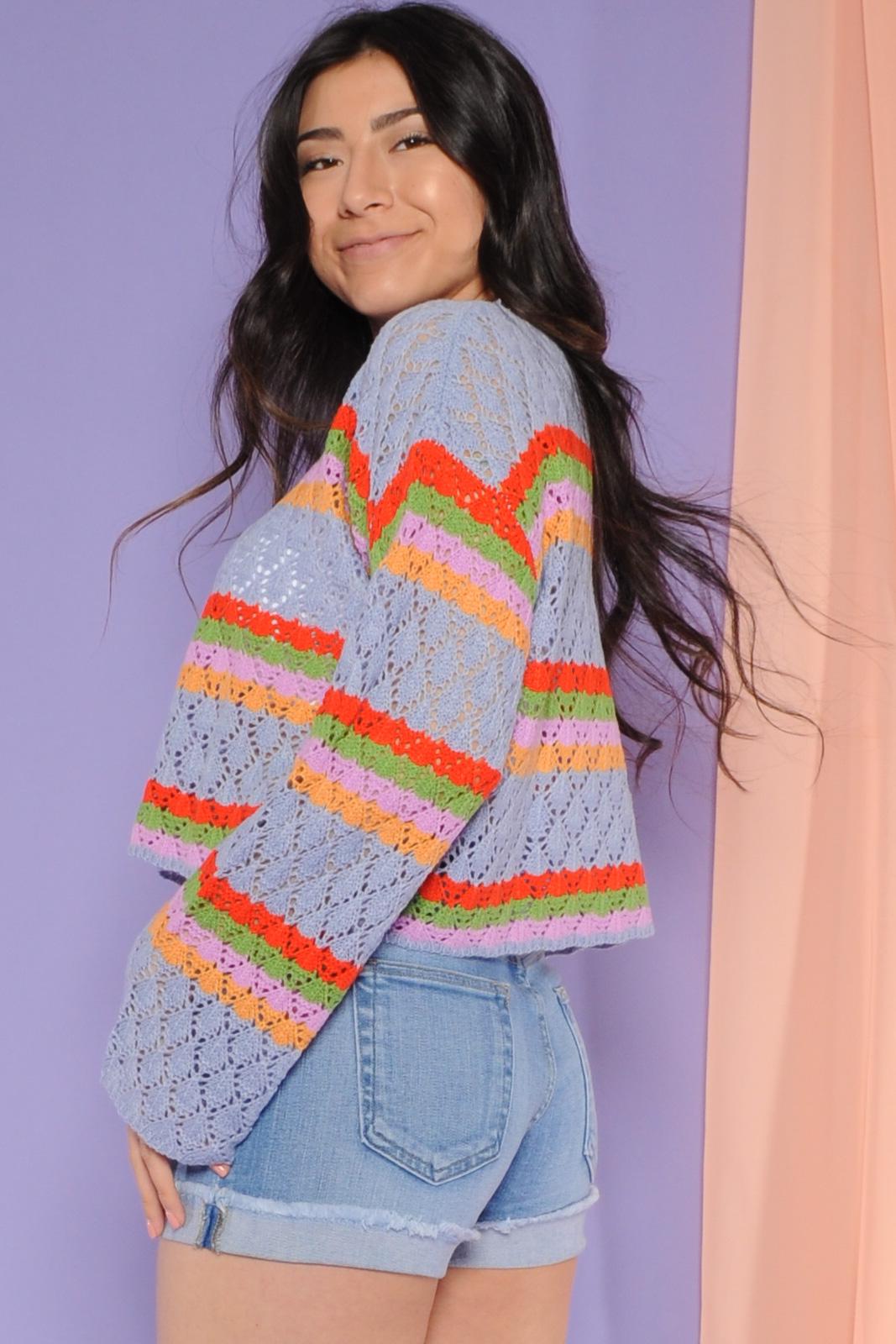 Branwen Blue Sweater