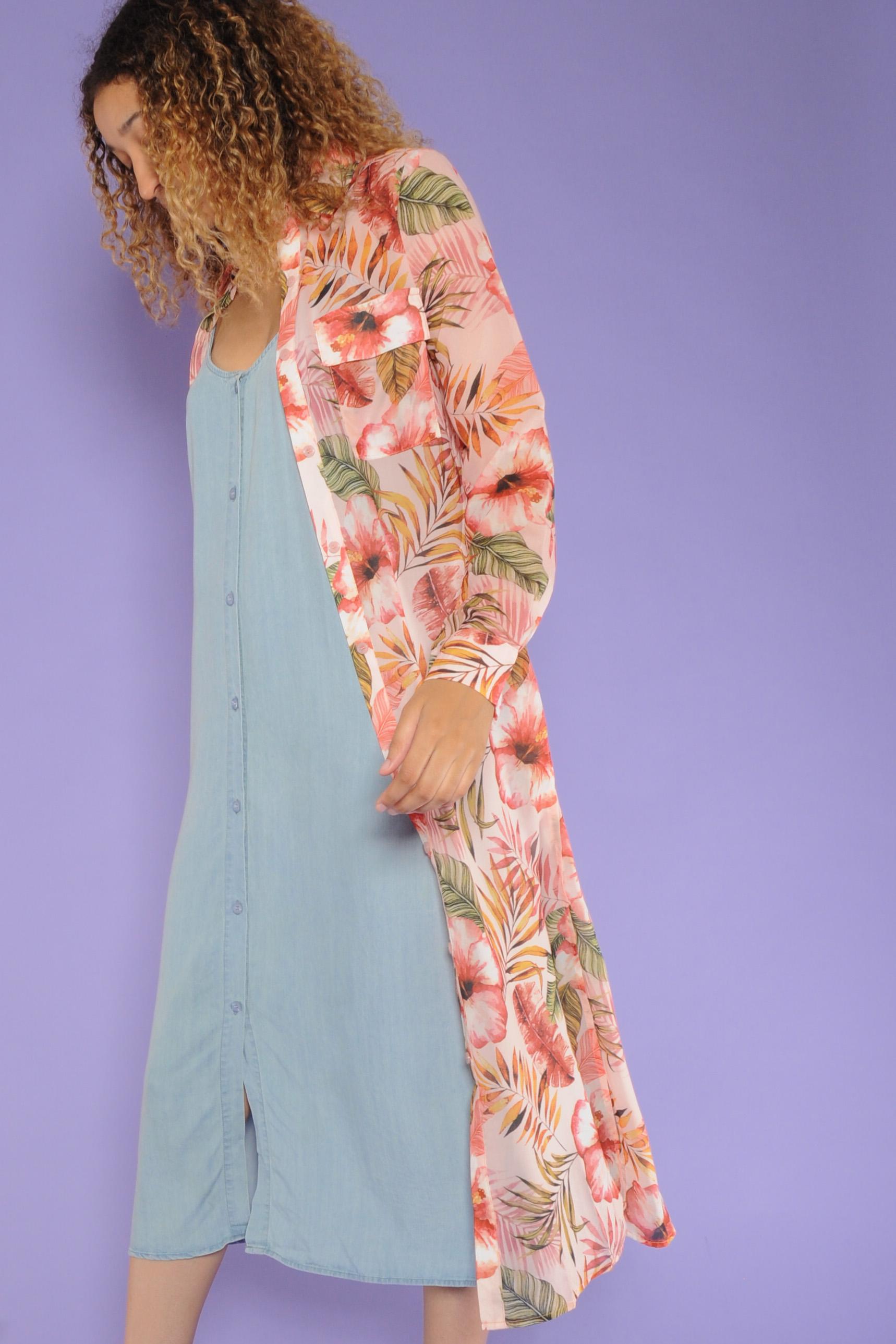 Tessie Kimono Dress
