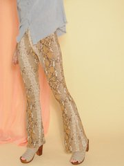 Golden Snake Pants
