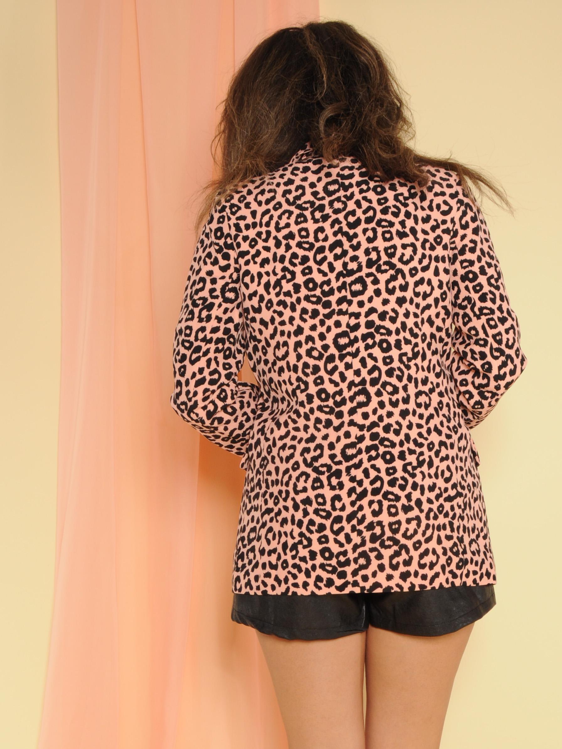 Nya Leopard Blazer