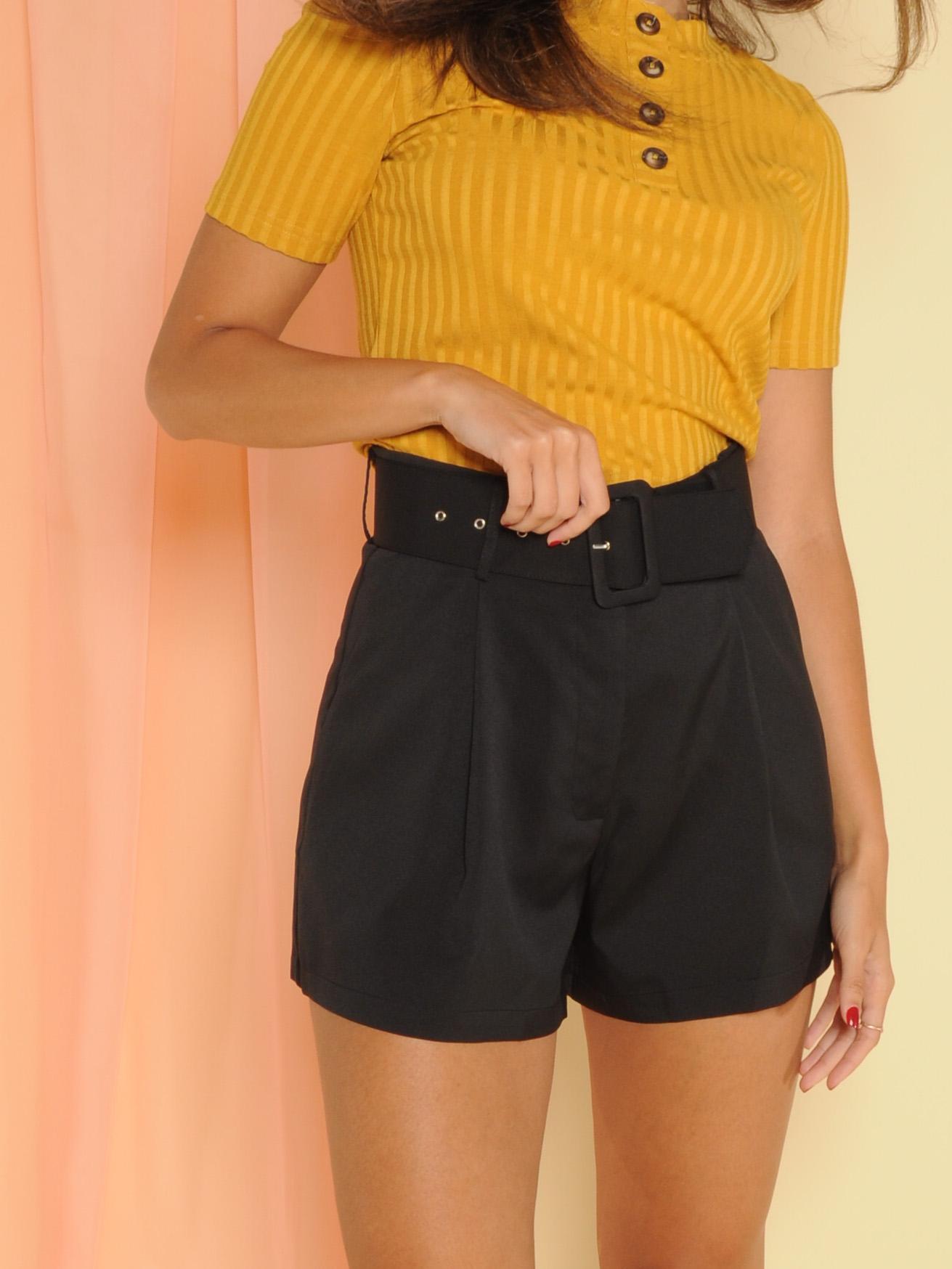 Jade Belted Shorts