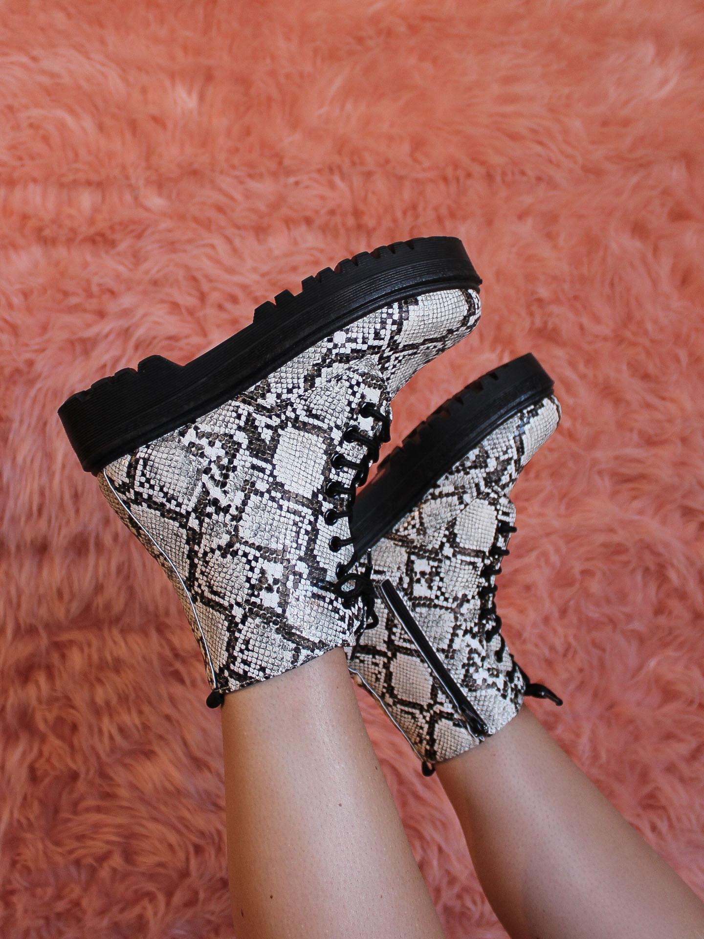 Raffi Combat Boots