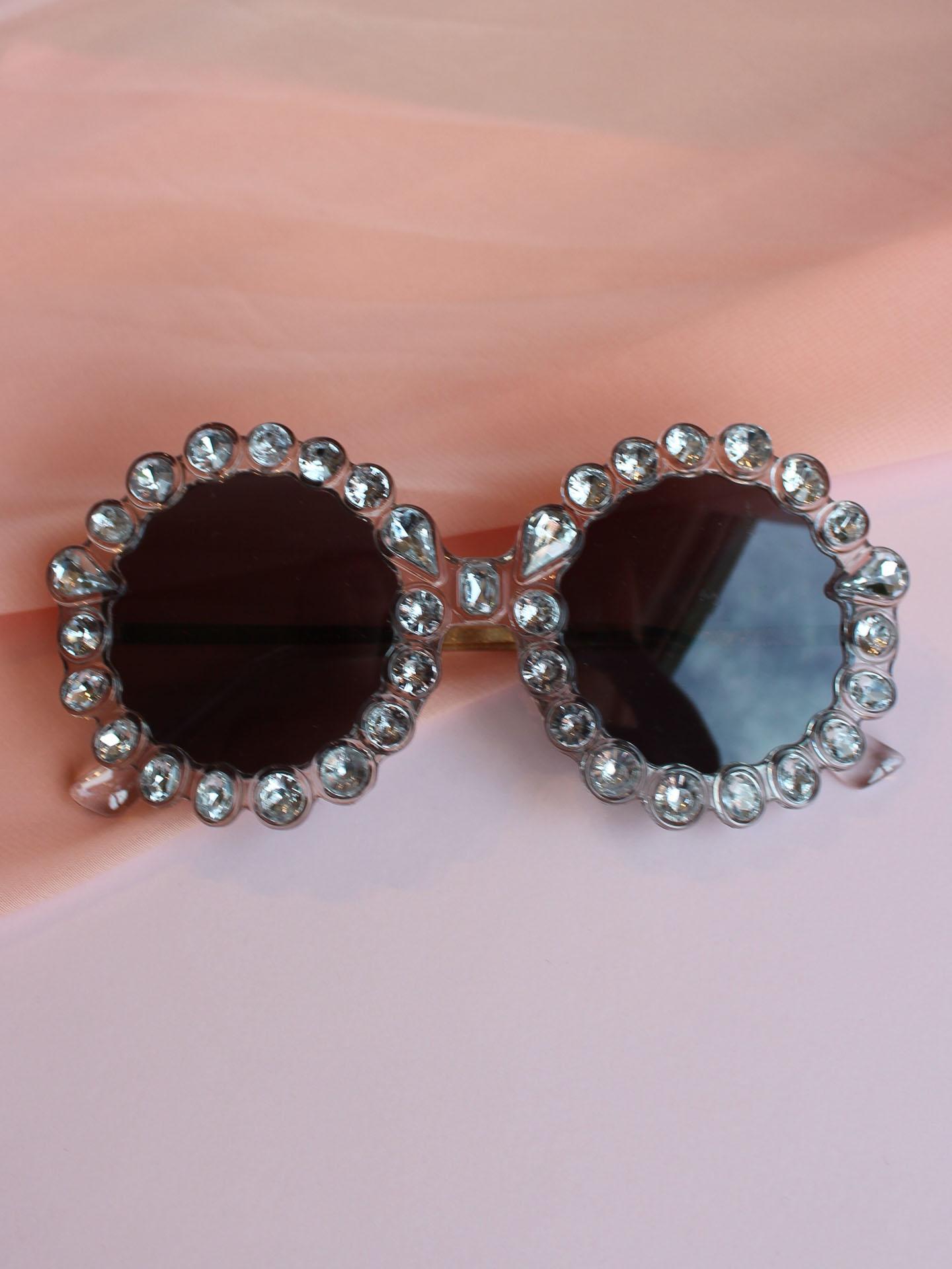 Elton Sunnies Clear