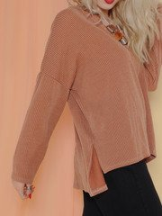 Petra Hoodie Slouchy Oversized Comfy Sweat Shirt Side