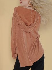 Petra Hoodie Slouchy Oversized Comfy Sweat Shirt Back