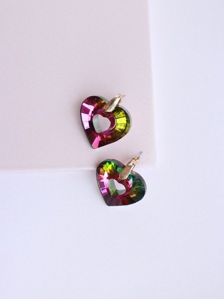 Heart of Rainbow Earring
