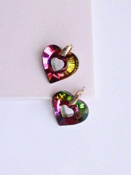 Heart of Rainbow Earring
