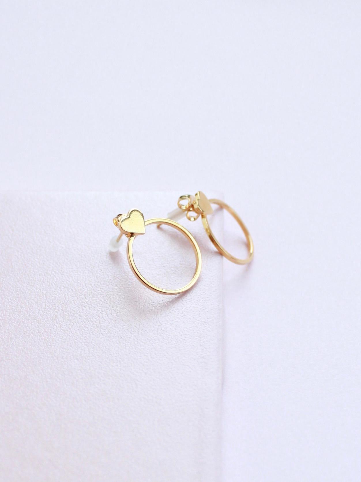 Baby Heart Earrings