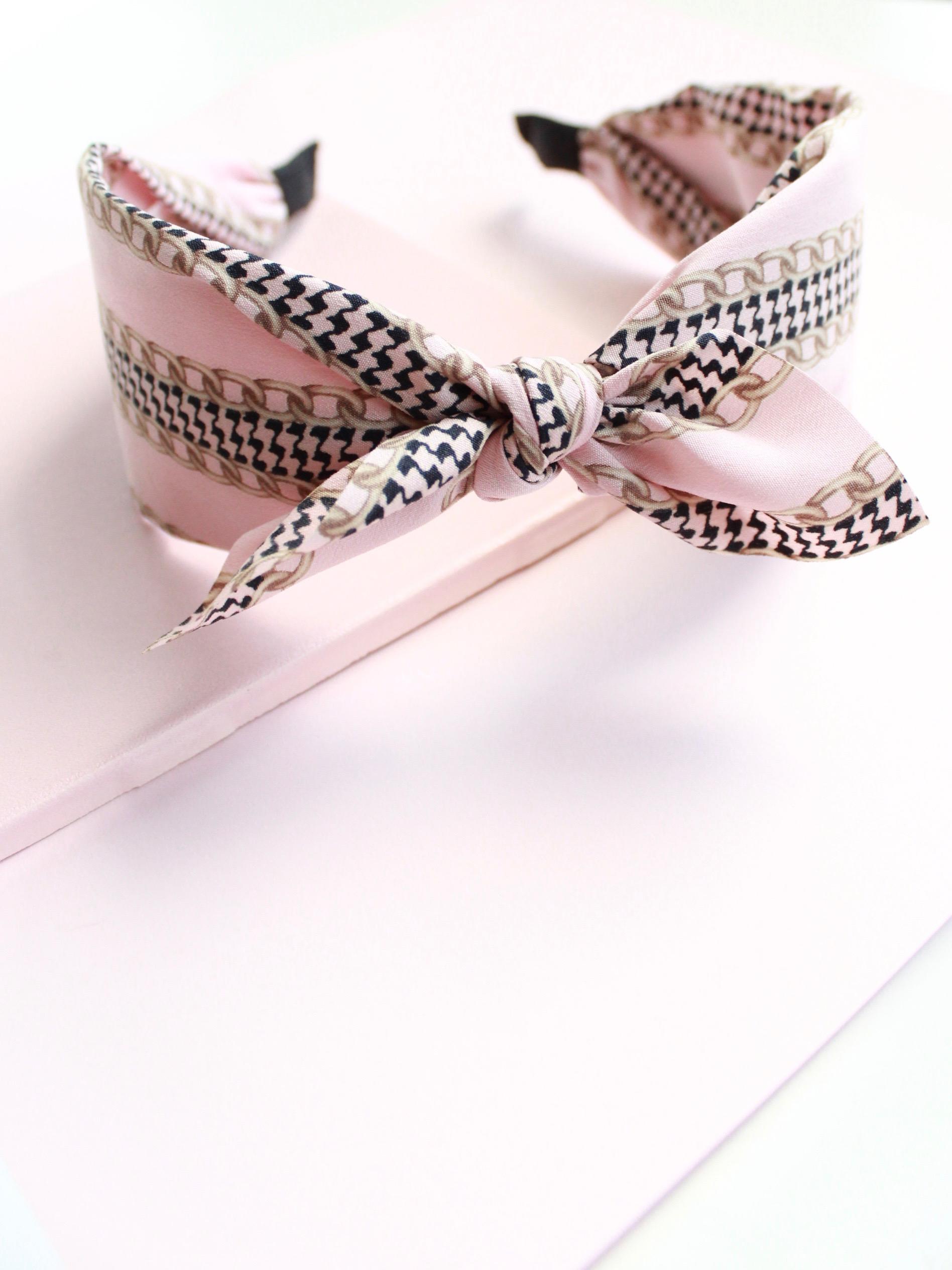 Pink Chain Headband